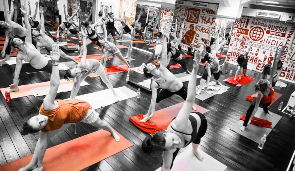 Бикрам йога похудела